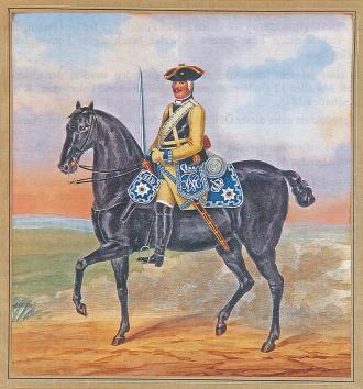 (C) LTR-Verlag Buchholz - Preussische-Kürassiere-Friedrich-Wilhelm-I.