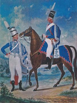 (C) Stiftung Preußische Schlösser und Gärten Berlin - (C) LTR-Verlag-The Uniforms of the Prussian Army 1805/1806-G.T.Doepler