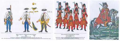 Maria Theresias Soldiers 1740-1763