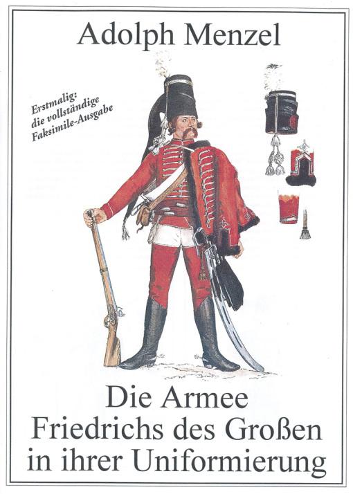 Die Armee Friedrichs des Großen-Adolph Menzel