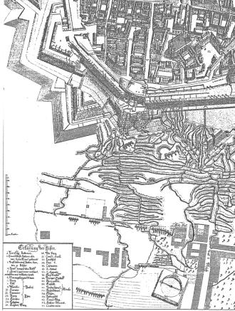 Prinz Eugen-Karten-Beilagen-Ausschnitt