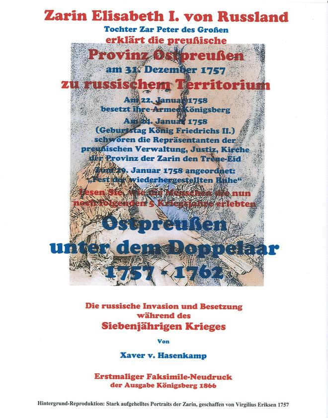 Ostpreußen unter dem Doppelaar 1758-1762