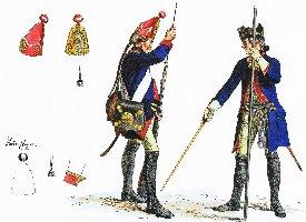 Die Preussische Armee im Siebenjährigen Krieg-gezeichnet und erläutert von Adolph Menzel