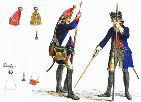 Clearance full color plates by Adolph Menzel at € 0,50 each - Seven-Years-War - Prussian Army